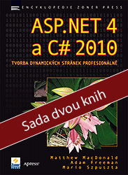 ASP.NET 4 a C# 2010 - Sada 2 knih